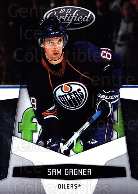 2010-11 Certified #58 Sam Gagner<br/>1 In Stock - $1.00 each - <a href=https://centericecollectibles.foxycart.com/cart?name=2010-11%20Certified%20%2358%20Sam%20Gagner...&quantity_max=1&price=$1.00&code=294662 class=foxycart> Buy it now! </a>