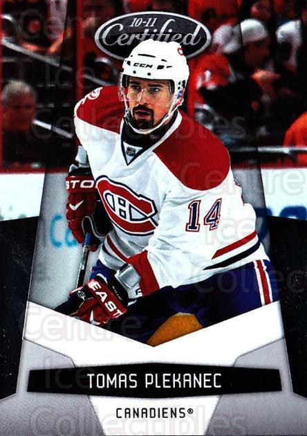 2010-11 Certified #76 Tomas Plekanec<br/>3 In Stock - $1.00 each - <a href=https://centericecollectibles.foxycart.com/cart?name=2010-11%20Certified%20%2376%20Tomas%20Plekanec...&quantity_max=3&price=$1.00&code=294680 class=foxycart> Buy it now! </a>