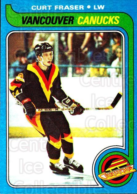 1979-80 Topps #117 Curt Fraser<br/>5 In Stock - $1.00 each - <a href=https://centericecollectibles.foxycart.com/cart?name=1979-80%20Topps%20%23117%20Curt%20Fraser...&quantity_max=5&price=$1.00&code=29538 class=foxycart> Buy it now! </a>