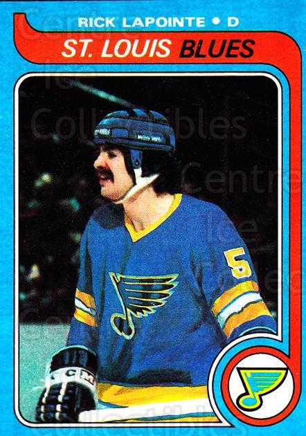 1979-80 Topps #121 Rick Lapointe<br/>3 In Stock - $1.00 each - <a href=https://centericecollectibles.foxycart.com/cart?name=1979-80%20Topps%20%23121%20Rick%20Lapointe...&quantity_max=3&price=$1.00&code=29542 class=foxycart> Buy it now! </a>