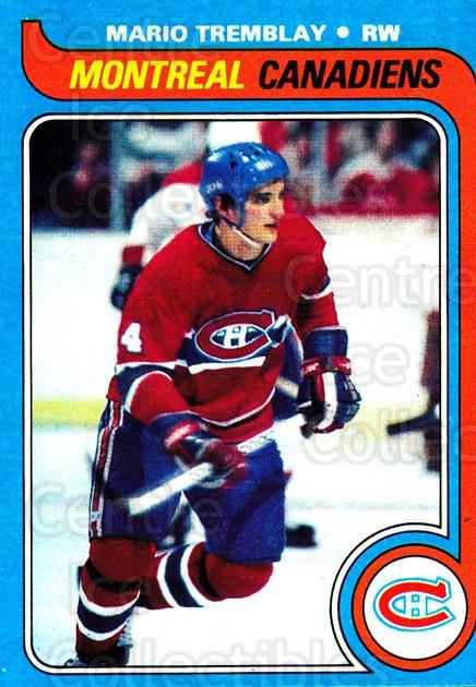 1979-80 Topps #123 Mario Tremblay<br/>1 In Stock - $1.00 each - <a href=https://centericecollectibles.foxycart.com/cart?name=1979-80%20Topps%20%23123%20Mario%20Tremblay...&quantity_max=1&price=$1.00&code=29544 class=foxycart> Buy it now! </a>