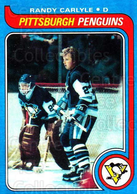 1979-80 Topps #124 Randy Carlyle<br/>9 In Stock - $1.00 each - <a href=https://centericecollectibles.foxycart.com/cart?name=1979-80%20Topps%20%23124%20Randy%20Carlyle...&quantity_max=9&price=$1.00&code=29545 class=foxycart> Buy it now! </a>