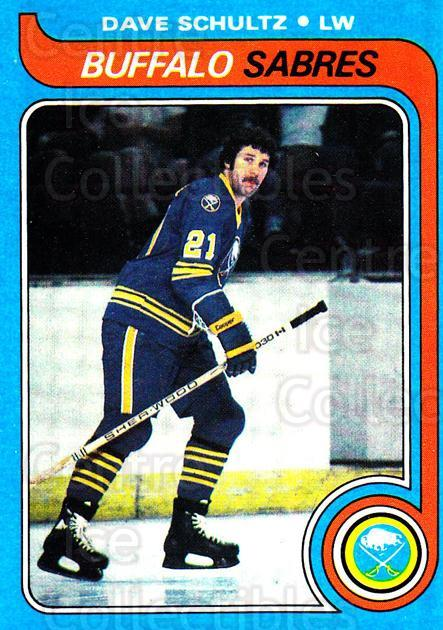 1979-80 Topps #134 Dave Schultz<br/>6 In Stock - $2.00 each - <a href=https://centericecollectibles.foxycart.com/cart?name=1979-80%20Topps%20%23134%20Dave%20Schultz...&quantity_max=6&price=$2.00&code=29555 class=foxycart> Buy it now! </a>