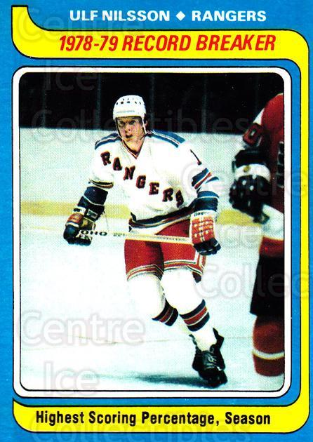 1979-80 Topps #163 Ulf Nilsson<br/>6 In Stock - $1.00 each - <a href=https://centericecollectibles.foxycart.com/cart?name=1979-80%20Topps%20%23163%20Ulf%20Nilsson...&quantity_max=6&price=$1.00&code=29582 class=foxycart> Buy it now! </a>