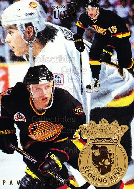 1994-95 Ultra Scoring Kings #1 Pavel Bure<br/>12 In Stock - $2.00 each - <a href=https://centericecollectibles.foxycart.com/cart?name=1994-95%20Ultra%20Scoring%20Kings%20%231%20Pavel%20Bure...&quantity_max=12&price=$2.00&code=295992 class=foxycart> Buy it now! </a>