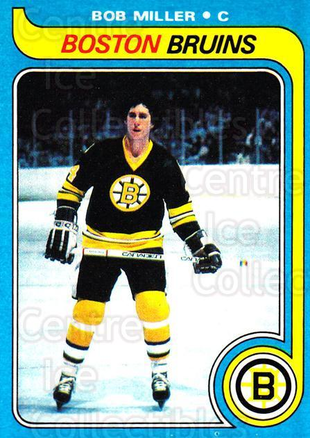 1979-80 Topps #196 Bob Miller<br/>6 In Stock - $1.00 each - <a href=https://centericecollectibles.foxycart.com/cart?name=1979-80%20Topps%20%23196%20Bob%20Miller...&quantity_max=6&price=$1.00&code=29613 class=foxycart> Buy it now! </a>