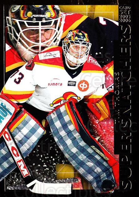 2005-06 Finnish Cardset Super Snatchers #7 Tim Thomas<br/>3 In Stock - $5.00 each - <a href=https://centericecollectibles.foxycart.com/cart?name=2005-06%20Finnish%20Cardset%20Super%20Snatchers%20%237%20Tim%20Thomas...&price=$5.00&code=296335 class=foxycart> Buy it now! </a>