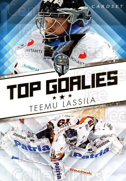 2010-11 Finnish Cardset Top Goalies Series One #1 Teemu Lassila<br/>2 In Stock - $3.00 each - <a href=https://centericecollectibles.foxycart.com/cart?name=2010-11%20Finnish%20Cardset%20Top%20Goalies%20Series%20One%20%231%20Teemu%20Lassila...&quantity_max=2&price=$3.00&code=296373 class=foxycart> Buy it now! </a>