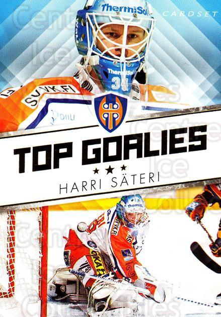 2010-11 Finnish Cardset Top Goalies Series One #6 Harri Sateri<br/>2 In Stock - $3.00 each - <a href=https://centericecollectibles.foxycart.com/cart?name=2010-11%20Finnish%20Cardset%20Top%20Goalies%20Series%20One%20%236%20Harri%20Sateri...&quantity_max=2&price=$3.00&code=296378 class=foxycart> Buy it now! </a>