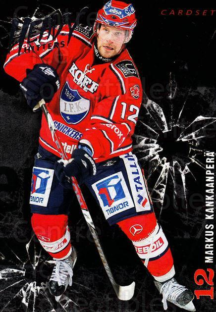 2010-11 Finnish Cardset Heavy Hitters #1 Markus Kankaanpera<br/>3 In Stock - $3.00 each - <a href=https://centericecollectibles.foxycart.com/cart?name=2010-11%20Finnish%20Cardset%20Heavy%20Hitters%20%231%20Markus%20Kankaanp...&quantity_max=3&price=$3.00&code=296382 class=foxycart> Buy it now! </a>