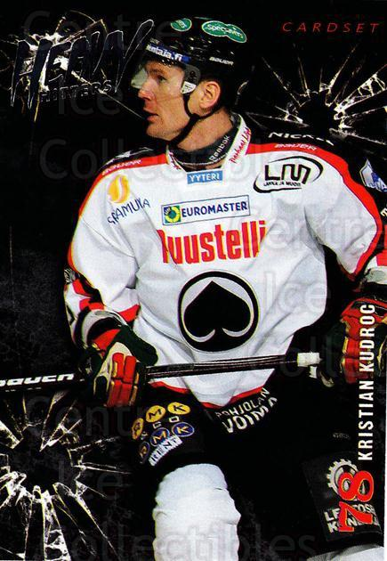 2010-11 Finnish Cardset Heavy Hitters #10 Kristian Kudroc<br/>3 In Stock - $3.00 each - <a href=https://centericecollectibles.foxycart.com/cart?name=2010-11%20Finnish%20Cardset%20Heavy%20Hitters%20%2310%20Kristian%20Kudroc...&quantity_max=3&price=$3.00&code=296391 class=foxycart> Buy it now! </a>