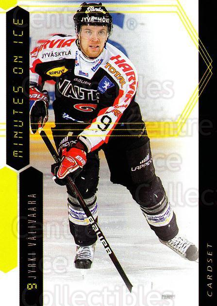 2010-11 Finnish Cardset Minutes On Ice #3 Jyrki Valivaara<br/>3 In Stock - $3.00 each - <a href=https://centericecollectibles.foxycart.com/cart?name=2010-11%20Finnish%20Cardset%20Minutes%20On%20Ice%20%233%20Jyrki%20Valivaara...&quantity_max=3&price=$3.00&code=296398 class=foxycart> Buy it now! </a>