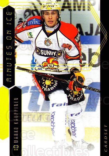 2010-11 Finnish Cardset Minutes On Ice #6 Marko Kauppinen<br/>3 In Stock - $3.00 each - <a href=https://centericecollectibles.foxycart.com/cart?name=2010-11%20Finnish%20Cardset%20Minutes%20On%20Ice%20%236%20Marko%20Kauppinen...&quantity_max=3&price=$3.00&code=296401 class=foxycart> Buy it now! </a>