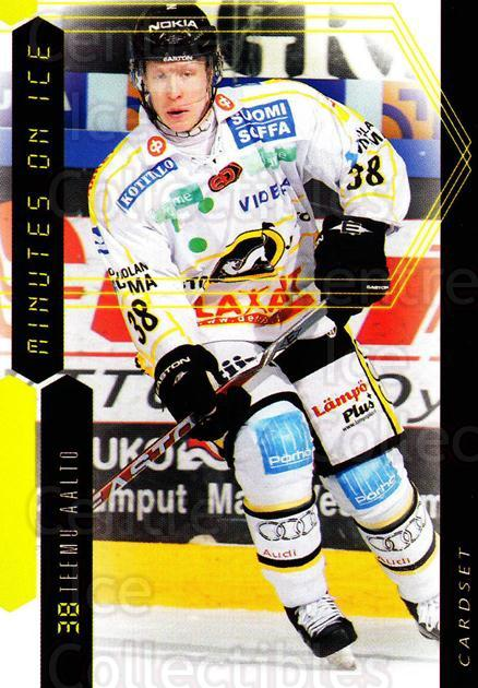 2010-11 Finnish Cardset Minutes On Ice #7 Teemu Aalto<br/>3 In Stock - $3.00 each - <a href=https://centericecollectibles.foxycart.com/cart?name=2010-11%20Finnish%20Cardset%20Minutes%20On%20Ice%20%237%20Teemu%20Aalto...&quantity_max=3&price=$3.00&code=296402 class=foxycart> Buy it now! </a>