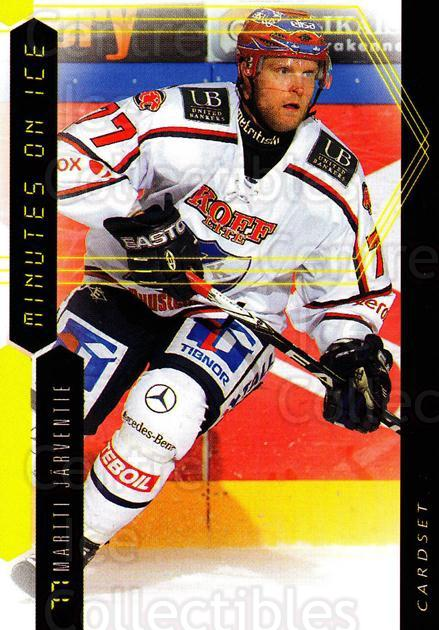 2010-11 Finnish Cardset Minutes On Ice #8 Martti Jarventie<br/>3 In Stock - $3.00 each - <a href=https://centericecollectibles.foxycart.com/cart?name=2010-11%20Finnish%20Cardset%20Minutes%20On%20Ice%20%238%20Martti%20Jarventi...&quantity_max=3&price=$3.00&code=296403 class=foxycart> Buy it now! </a>