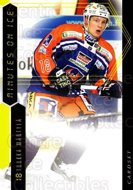 2010-11 Finnish Cardset Minutes On Ice #9 Tuukka Mantyla<br/>3 In Stock - $3.00 each - <a href=https://centericecollectibles.foxycart.com/cart?name=2010-11%20Finnish%20Cardset%20Minutes%20On%20Ice%20%239%20Tuukka%20Mantyla...&quantity_max=3&price=$3.00&code=296404 class=foxycart> Buy it now! </a>