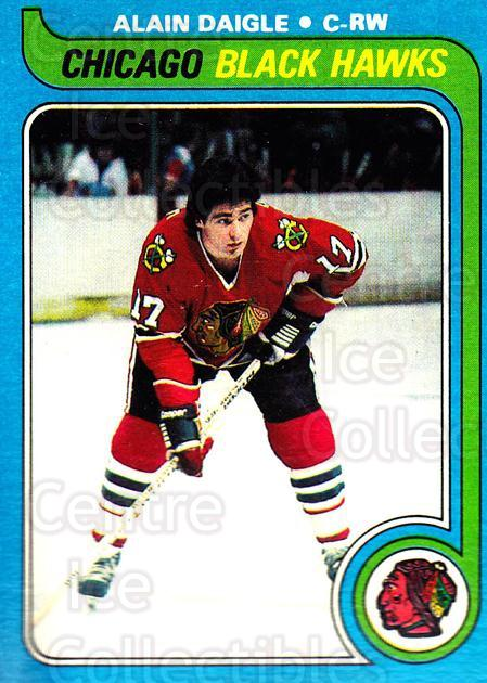 1979-80 Topps #227 Alain Daigle<br/>7 In Stock - $1.00 each - <a href=https://centericecollectibles.foxycart.com/cart?name=1979-80%20Topps%20%23227%20Alain%20Daigle...&quantity_max=7&price=$1.00&code=29643 class=foxycart> Buy it now! </a>