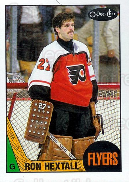 1987-88 O-Pee-Chee #169 Ron Hextall<br/>1 In Stock - $5.00 each - <a href=https://centericecollectibles.foxycart.com/cart?name=1987-88%20O-Pee-Chee%20%23169%20Ron%20Hextall...&price=$5.00&code=296475 class=foxycart> Buy it now! </a>