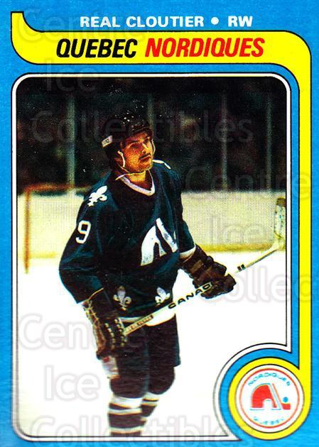 1979-80 Topps #239 Real Cloutier<br/>4 In Stock - $1.00 each - <a href=https://centericecollectibles.foxycart.com/cart?name=1979-80%20Topps%20%23239%20Real%20Cloutier...&quantity_max=4&price=$1.00&code=29655 class=foxycart> Buy it now! </a>