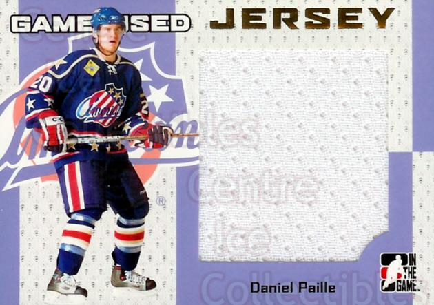2006-07 ITG Heroes and Prospects Jersey Gold #28 Daniel Paille<br/>1 In Stock - $15.00 each - <a href=https://centericecollectibles.foxycart.com/cart?name=2006-07%20ITG%20Heroes%20and%20Prospects%20Jersey%20Gold%20%2328%20Daniel%20Paille...&quantity_max=1&price=$15.00&code=296625 class=foxycart> Buy it now! </a>