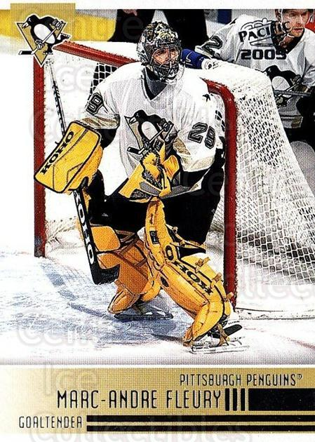 2004-05 Pacific #210 Marc-Andre Fleury<br/>2 In Stock - $2.00 each - <a href=https://centericecollectibles.foxycart.com/cart?name=2004-05%20Pacific%20%23210%20Marc-Andre%20Fleu...&quantity_max=2&price=$2.00&code=296634 class=foxycart> Buy it now! </a>