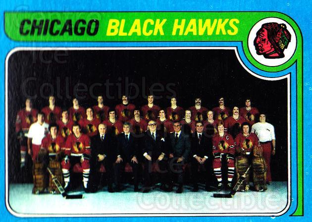 1979-80 Topps #247 Chicago Blackhawks, Checklist<br/>4 In Stock - $3.00 each - <a href=https://centericecollectibles.foxycart.com/cart?name=1979-80%20Topps%20%23247%20Chicago%20Blackha...&quantity_max=4&price=$3.00&code=29663 class=foxycart> Buy it now! </a>