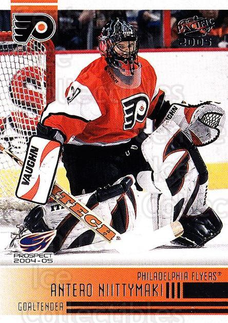 2004-05 Pacific #294 Antero Niittymaki<br/>1 In Stock - $1.00 each - <a href=https://centericecollectibles.foxycart.com/cart?name=2004-05%20Pacific%20%23294%20Antero%20Niittyma...&quantity_max=1&price=$1.00&code=296643 class=foxycart> Buy it now! </a>