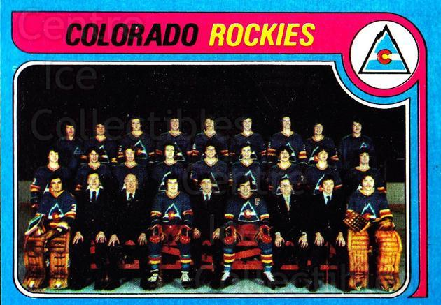 1979-80 Topps #248 Colorado Rockies, Checklist<br/>7 In Stock - $3.00 each - <a href=https://centericecollectibles.foxycart.com/cart?name=1979-80%20Topps%20%23248%20Colorado%20Rockie...&quantity_max=7&price=$3.00&code=29664 class=foxycart> Buy it now! </a>
