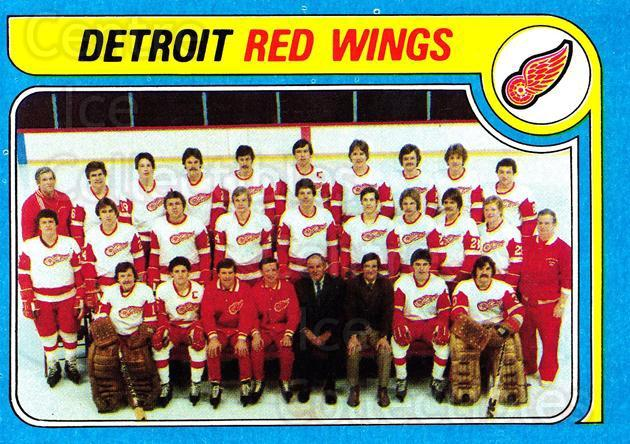 1979-80 Topps #249 Detroit Red Wings, Checklist<br/>3 In Stock - $3.00 each - <a href=https://centericecollectibles.foxycart.com/cart?name=1979-80%20Topps%20%23249%20Detroit%20Red%20Win...&quantity_max=3&price=$3.00&code=29665 class=foxycart> Buy it now! </a>