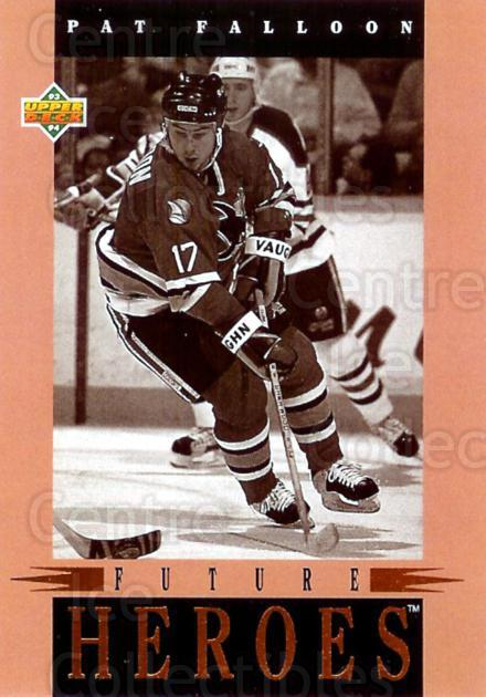 1993-94 Upper Deck Future Heroes #29 Pat Falloon<br/>1 In Stock - $5.00 each - <a href=https://centericecollectibles.foxycart.com/cart?name=1993-94%20Upper%20Deck%20Future%20Heroes%20%2329%20Pat%20Falloon...&quantity_max=1&price=$5.00&code=296676 class=foxycart> Buy it now! </a>