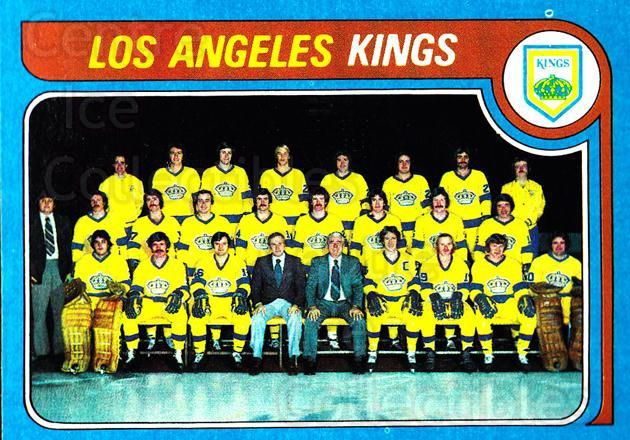 1979-80 Topps #250 Los Angeles Kings, Checklist<br/>4 In Stock - $3.00 each - <a href=https://centericecollectibles.foxycart.com/cart?name=1979-80%20Topps%20%23250%20Los%20Angeles%20Kin...&quantity_max=4&price=$3.00&code=29667 class=foxycart> Buy it now! </a>