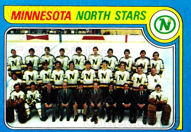 1979-80 Topps #251 Minnesota North Stars, Checklist<br/>7 In Stock - $3.00 each - <a href=https://centericecollectibles.foxycart.com/cart?name=1979-80%20Topps%20%23251%20Minnesota%20North...&quantity_max=7&price=$3.00&code=29668 class=foxycart> Buy it now! </a>