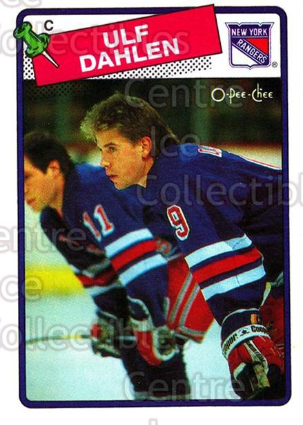 1988-89 O-Pee-Chee #47 Ulf Dahlen<br/>5 In Stock - $1.00 each - <a href=https://centericecollectibles.foxycart.com/cart?name=1988-89%20O-Pee-Chee%20%2347%20Ulf%20Dahlen...&quantity_max=5&price=$1.00&code=296751 class=foxycart> Buy it now! </a>