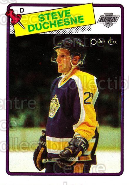 1988-89 O-Pee-Chee #182 Steve Duchesne<br/>15 In Stock - $1.00 each - <a href=https://centericecollectibles.foxycart.com/cart?name=1988-89%20O-Pee-Chee%20%23182%20Steve%20Duchesne...&quantity_max=15&price=$1.00&code=296762 class=foxycart> Buy it now! </a>