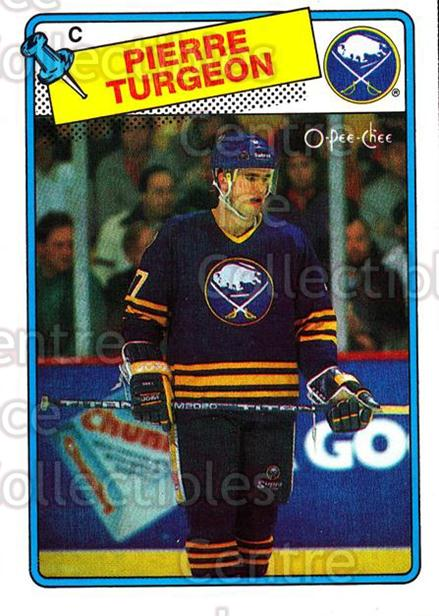 1988-89 O-Pee-Chee #194 Pierre Turgeon<br/>6 In Stock - $5.00 each - <a href=https://centericecollectibles.foxycart.com/cart?name=1988-89%20O-Pee-Chee%20%23194%20Pierre%20Turgeon...&quantity_max=6&price=$5.00&code=296763 class=foxycart> Buy it now! </a>