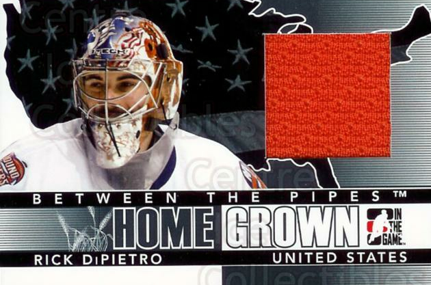 2009-10 Between The Pipes Home Grown Black #20 Rick DiPietro<br/>1 In Stock - $5.00 each - <a href=https://centericecollectibles.foxycart.com/cart?name=2009-10%20Between%20The%20Pipes%20Home%20Grown%20Black%20%2320%20Rick%20DiPietro...&price=$5.00&code=296793 class=foxycart> Buy it now! </a>