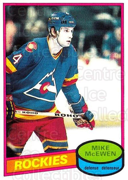 1980-81 O-Pee-Chee #185 Mike McEwen<br/>1 In Stock - $2.00 each - <a href=https://centericecollectibles.foxycart.com/cart?name=1980-81%20O-Pee-Chee%20%23185%20Mike%20McEwen...&quantity_max=1&price=$2.00&code=29732 class=foxycart> Buy it now! </a>