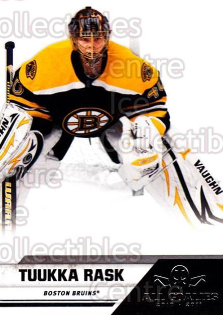 2010-11 Panini All Goalies #9 Tuukka Rask<br/>6 In Stock - $2.00 each - <a href=https://centericecollectibles.foxycart.com/cart?name=2010-11%20Panini%20All%20Goalies%20%239%20Tuukka%20Rask...&quantity_max=6&price=$2.00&code=297487 class=foxycart> Buy it now! </a>