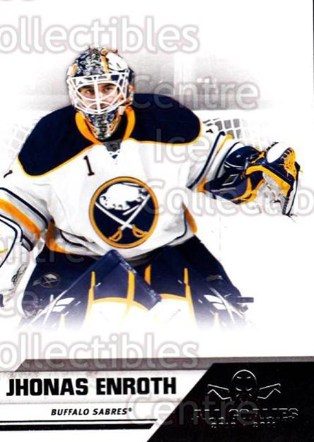 2010-11 Panini All Goalies #12 Jhonas Enroth<br/>7 In Stock - $1.00 each - <a href=https://centericecollectibles.foxycart.com/cart?name=2010-11%20Panini%20All%20Goalies%20%2312%20Jhonas%20Enroth...&quantity_max=7&price=$1.00&code=297490 class=foxycart> Buy it now! </a>