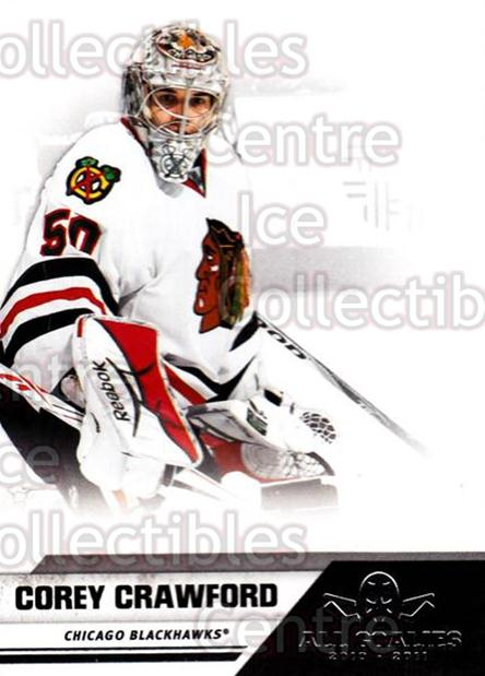2010-11 Panini All Goalies #17 Corey Crawford<br/>7 In Stock - $1.00 each - <a href=https://centericecollectibles.foxycart.com/cart?name=2010-11%20Panini%20All%20Goalies%20%2317%20Corey%20Crawford...&quantity_max=7&price=$1.00&code=297495 class=foxycart> Buy it now! </a>
