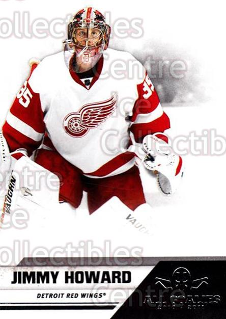 2010-11 Panini All Goalies #27 Jimmy Howard<br/>8 In Stock - $1.00 each - <a href=https://centericecollectibles.foxycart.com/cart?name=2010-11%20Panini%20All%20Goalies%20%2327%20Jimmy%20Howard...&quantity_max=8&price=$1.00&code=297505 class=foxycart> Buy it now! </a>