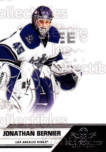 2010-11 Panini All Goalies #37 Jonathan Bernier<br/>7 In Stock - $1.00 each - <a href=https://centericecollectibles.foxycart.com/cart?name=2010-11%20Panini%20All%20Goalies%20%2337%20Jonathan%20Bernie...&quantity_max=7&price=$1.00&code=297515 class=foxycart> Buy it now! </a>