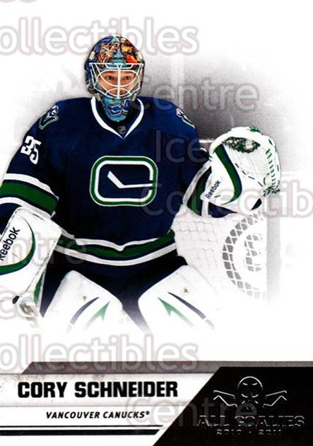 2010-11 Panini All Goalies #86 Cory Schneider<br/>9 In Stock - $1.00 each - <a href=https://centericecollectibles.foxycart.com/cart?name=2010-11%20Panini%20All%20Goalies%20%2386%20Cory%20Schneider...&quantity_max=9&price=$1.00&code=297564 class=foxycart> Buy it now! </a>