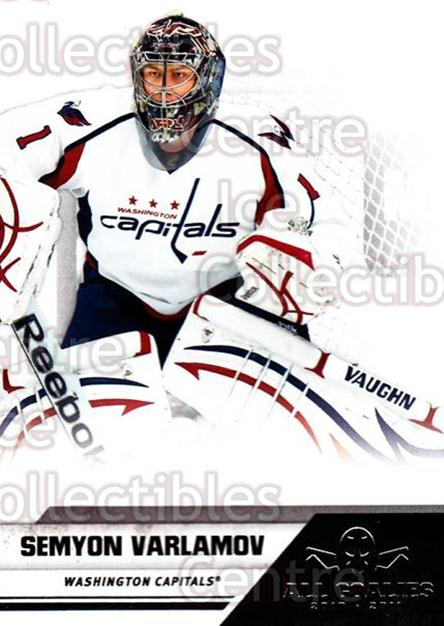 2010-11 Panini All Goalies #87 Semyon Varlamov<br/>10 In Stock - $1.00 each - <a href=https://centericecollectibles.foxycart.com/cart?name=2010-11%20Panini%20All%20Goalies%20%2387%20Semyon%20Varlamov...&quantity_max=10&price=$1.00&code=297565 class=foxycart> Buy it now! </a>