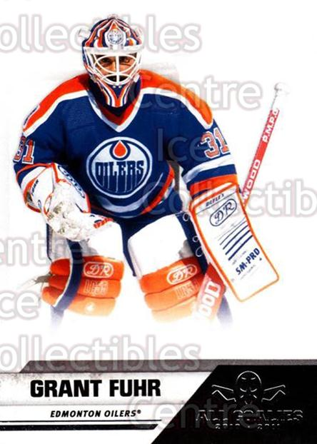 2010-11 Panini All Goalies #98 Grant Fuhr<br/>2 In Stock - $2.00 each - <a href=https://centericecollectibles.foxycart.com/cart?name=2010-11%20Panini%20All%20Goalies%20%2398%20Grant%20Fuhr...&quantity_max=2&price=$2.00&code=297576 class=foxycart> Buy it now! </a>