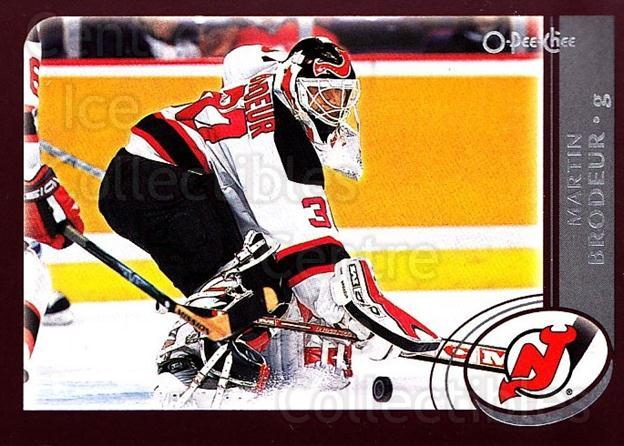 2002-03 O-Pee-Chee #3 Martin Brodeur<br/>1 In Stock - $2.00 each - <a href=https://centericecollectibles.foxycart.com/cart?name=2002-03%20O-Pee-Chee%20%233%20Martin%20Brodeur...&quantity_max=1&price=$2.00&code=297595 class=foxycart> Buy it now! </a>
