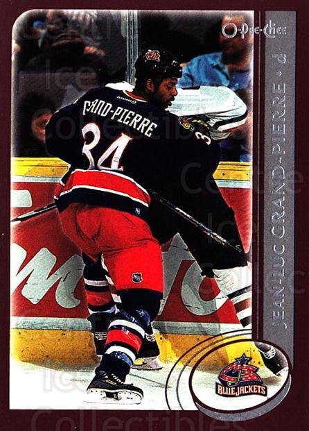 2002-03 O-Pee-Chee #228 Jean-Luc Grand-Pierre<br/>3 In Stock - $1.00 each - <a href=https://centericecollectibles.foxycart.com/cart?name=2002-03%20O-Pee-Chee%20%23228%20Jean-Luc%20Grand-...&quantity_max=3&price=$1.00&code=297606 class=foxycart> Buy it now! </a>