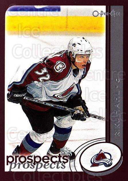 2002-03 O-Pee-Chee #285 Riku Hahl<br/>1 In Stock - $1.00 each - <a href=https://centericecollectibles.foxycart.com/cart?name=2002-03%20O-Pee-Chee%20%23285%20Riku%20Hahl...&price=$1.00&code=297614 class=foxycart> Buy it now! </a>
