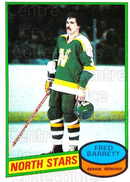 1980-81 O-Pee-Chee #253 Fred Barrett<br/>2 In Stock - $2.00 each - <a href=https://centericecollectibles.foxycart.com/cart?name=1980-81%20O-Pee-Chee%20%23253%20Fred%20Barrett...&quantity_max=2&price=$2.00&code=29764 class=foxycart> Buy it now! </a>