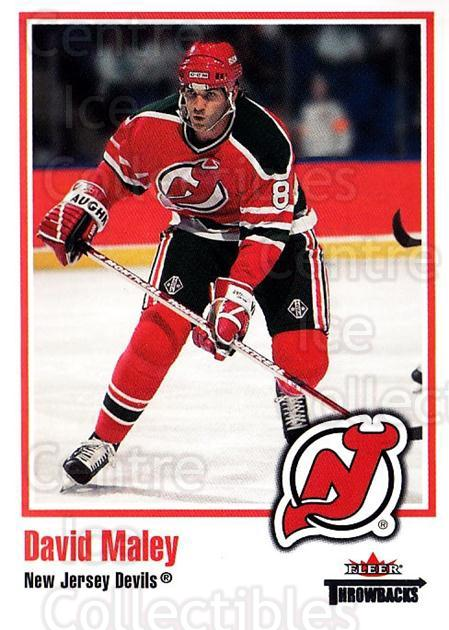 2002-03 Fleer Throwbacks #30 David Maley<br/>3 In Stock - $2.00 each - <a href=https://centericecollectibles.foxycart.com/cart?name=2002-03%20Fleer%20Throwbacks%20%2330%20David%20Maley...&quantity_max=3&price=$2.00&code=297732 class=foxycart> Buy it now! </a>